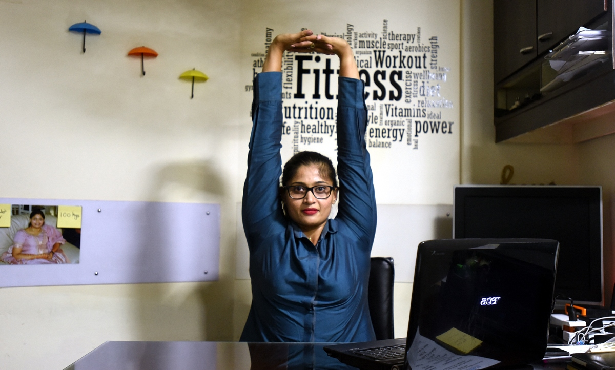 Sedentary Lifestyle: A Simple Desk Workout That Will Help You Stay Fitter